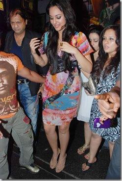 Sonakshi Sinha on Ramp 2