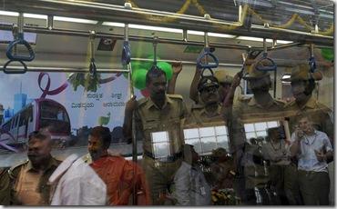 Namma Metro Inside Pics - Banglore